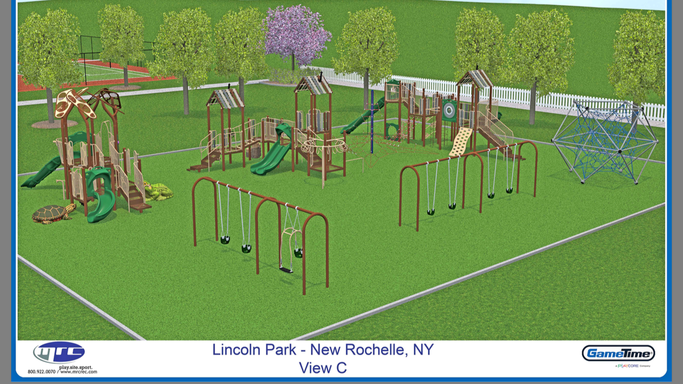 Lincoln Park playground sketch